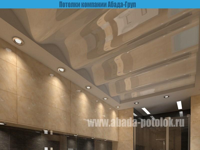 Как сделать рифленый потолок
